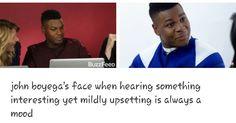 John Boyega, Something Interesting, Mood, Face, The Face, Faces, Facial