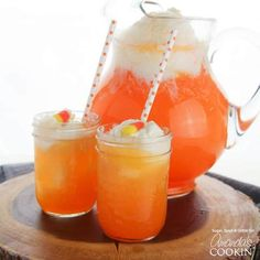 Candy Corn Nonalcoholic Punch