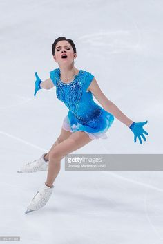 News Photo : Evgenia Medvedeva of Russia competes during...