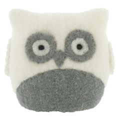 Paperchase small grey and white owl