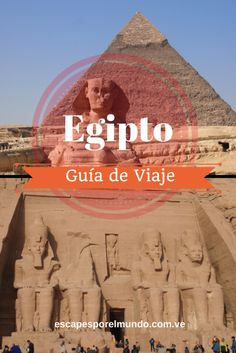 Guía de viaje por Egipto. Travel Egypt #travelguide