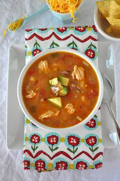Last Minute Chicken Tortilla Soup