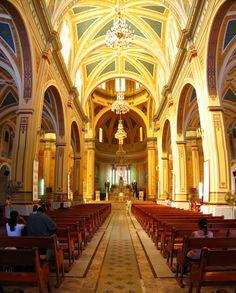 Catedral de Tampico es una de las máximas obras arquitectónicas de la ciudad. Su construcción inicia en 1841 sufriendo desde entonces múltiples adaptaciones y remodelaciones. Fuente: Google