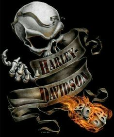 Harley Davidson – Rock – by thomasselnow Harley Davidson Logo, Harley Davidson Kunst, Harley Davidson Kleidung, Harley Davidson Tattoos, Harley Davidson Wallpaper, Harley Davidson Motorcycles, Motorcycle Tattoos, Motorcycle Art, Bike Art