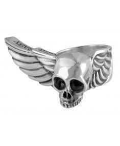King Baby - Wing Skull Ring