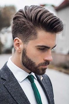 A brand new year has begun and with it comes the plethora of choice for men's haircuts to choose from. Across America and Europe, many hairstyles have made their mark last year and some of these will go on to be popular in 2018 too. #haircuts #shorthaircuts #menshaircuts #menshairstyles