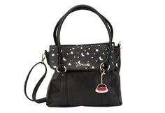GET THE LOOK - Pair our New York Tote with our Celeste (star & moon) TrendStyler™ http://www.larissa-k.com/base-bags/new-york-tote-black-detail AND http://www.larissa-k.com/trendstylers/celeste-trendstyler-detail