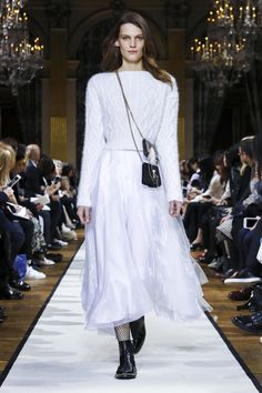 Bouchra Jarra is now two seasons in at Lanvin. Her own aesthetic is one of sharp lines and precision cuts, she hails from the school of Ghesquiere after all. Lanvin's aesthetic under Alber El...