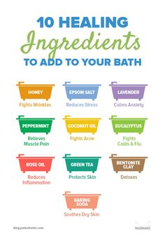 10 Healing Ingredients to Add to Your Bath (Muscle Pain Relief + More) - Gesundheit - Best Picture For detox soup For Your Taste You are looking for something, and it is going to tell - Health And Beauty Tips, Health And Wellness, Health Tips, Health Care, Beauty Tips For Hair, Wellness Fitness, Natural Health Remedies, Home Remedies, Herbal Remedies
