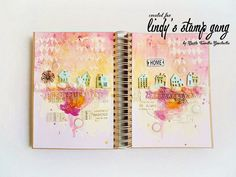 """Home"" Journal Page Tutorial by Marta Turska-Grochocka 