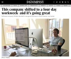Software company Wildbit decided it was good business to work smarter, not harder. Four Days, Work Week, Video News, Business