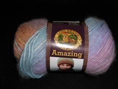 Lion Brand Amazing  Yarn  Color=  Pink Sands by TheKnittingGnomeVT on Etsy