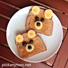 Get your kids giggling through breakfast with Teddy Bear Toast!
