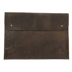 """Laptop Sleeve 13"""" Dark Brown, $79, now featured on Fab."""