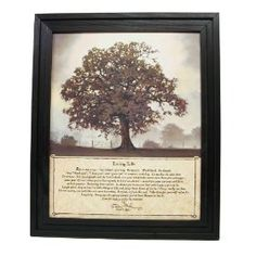 Framed Print - Living Life Journey - Inspirational Quote by Bonnie Mohr Country Rustic Picture Art Large $49.99