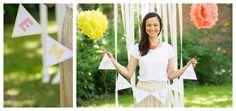 Eine süße Geburtstagsparty und niedliche Häkelkleidung bei Ma:schee  Papeterie von Pretty in Print