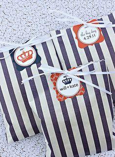 adorable idea for royal wedding treats