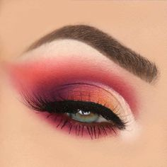 pink eye makeup - 100 eye makeup ideas #eyemakeup #eyeshadow eye make up for green eyes ,eye makeup for blue eyes