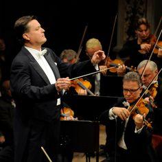 Christian Thielemann conducting the Staatskapelle Dresden
