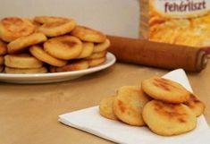 Villámgyors kelesztés nélküli krumplis pogácsa - Blikk Rúzs Tasty, Yummy Food, Cooking Chef, Ham, Vegetarian Recipes, Bakery, Food And Drink, Chips, Sweets