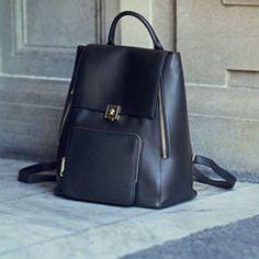 Modalu Agatha Small Leather Rucksack Bag   The Edit