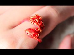 DIY: Phoenix Ring Polymer Clay Tutorial (Collab w/ NerdECrafter) - YouTube