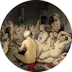 Dominique Ingres - El Baño Turco (Tondo)