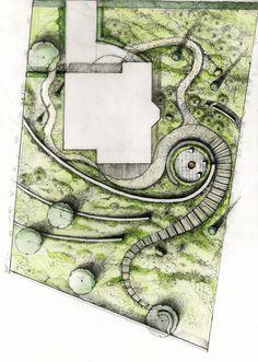 Esquisse / Garden Plans