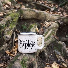 We're yearning to go places. With a mug from @wildandfreedesigns in hand, there's comfort in unknown adventures. Tell us: Where will this year take you?