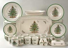 Not the holidays without Spode Christmas tableware