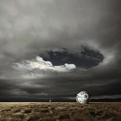 Awesome Landscape Photo Manipulations by Michał Karcz