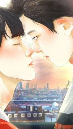 Another cumpilations of stuffs about ChanBaek. Fanart Kpop, Chanbaek Fanart, Exo Chanbaek, Baekhyun Chanyeol, Exo Ot12, K Pop, Cute Kiss, Exo Couple, Exo Fan Art