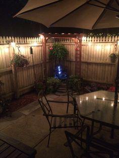 Backyard Fences, Backyard Projects, Backyard Landscaping, Patio Ideas, Garden Yard Ideas, Backyard Ideas, Outdoor Ideas, Lawn And Garden, Backyard Plan