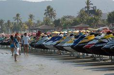 Open Sea atrai feras das motos aquáticas neste domingo no Guarujá