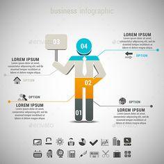 Business Infographic Template #design Download: http://graphicriver.net/item/business-infographic/10409667?ref=ksioks