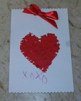 kid made Valentine's! very simple and cute