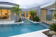 Pool:- When water becomes part of your lifestyle