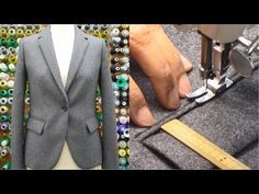FD 62 - Patternmaking II Lesson 3 - Lined Jacket - YouTube