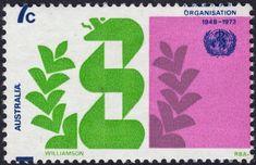 Australia 1973 World Health Organisation Major Misperforation MUH World Health Organization, First Order, Page 3, Stamps, Australia, Organization, Seals, Postage Stamps, Stamp