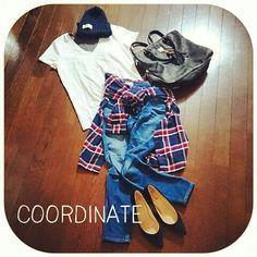 無印良品チェックシャツコーデと腰巻きQ&A |ファッションと料理と家事日和
