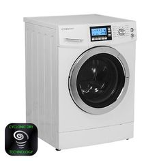 EdgeStar 2.0 Cu. Ft. Ventless   Washer Dryer Combo - White  I'll need this for my Tiny house someday!!