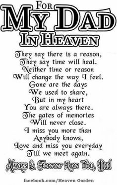 Ideas Birthday Message For Dad In Heaven For 2019 Dad In Heaven Quotes, Miss You Dad Quotes, Grandma Quotes, Funny Dad Quotes, Missing Dad In Heaven, Papa Quotes, Missing Daddy, Family Quotes, Miss You Daddy