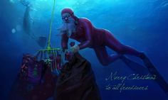 Christmas Freediver