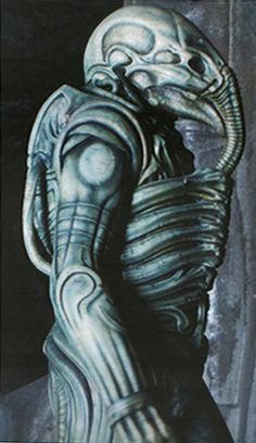 Alien Explorations: The standing Engineer Spacesuits
