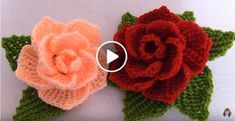 Close knit embroidery learn to knit close embroidery knit learn Crochet Puff Flower, Crochet Flower Tutorial, Crochet Flowers, Flower Applique Patterns, Crochet Patterns, Diy Crafts Crochet, Hand Embroidery Tutorial, Art Plastique, Diy Flowers