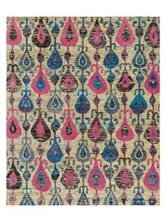 Giselle Hand-Knotted Silk Rug