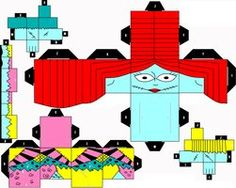""" Sally "" Cubeecraft by SHONADH01"