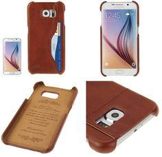 11c15a7131e Funda cuero piel genuina Samsung Galaxy S6 - Fundas móviles: Fundas Samsung  Galaxy S6 - Tienda online YOUGAMETRONICA
