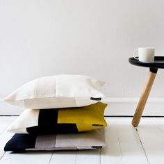 Via Finnish Design Shop | Norman CPH Tablo | Woodnotes Rest Pillows
