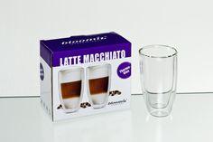 Latte Macchiatoglas Grande Roma im Pint Glass, Beer, Tableware, Kaffee, Gift Wrapping, Packaging, Root Beer, Dinnerware, Beer Glassware